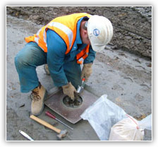 Geotechnical field tests